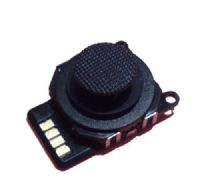 PSP 2000 Slim and Lite Joystick (3D Button) and Button Cap Black